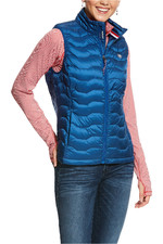 Ariat Womens ideal 3.0 Down Gilet Blue