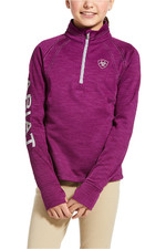 Ariat Youth Tek Team 1/2 Zip Sweatshirt - Imperial Violet