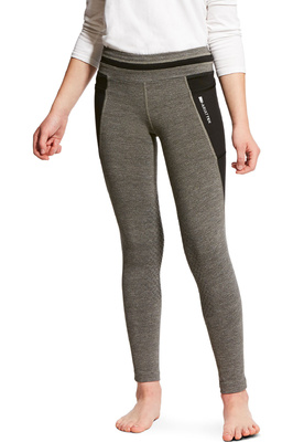 Ariat Girls Freja KP Cooling Tights Charcoal