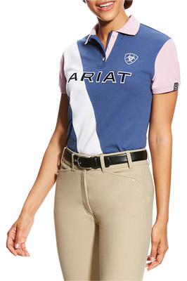 Ariat Girls Taryn Polo Indigo Fade
