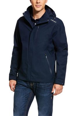 Ariat Mens Coastal H2O Jacket 10030340 - Navy