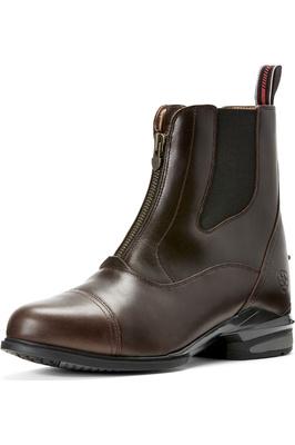 Ariat Mens Devon Nitro Zip Paddock Boots Brown