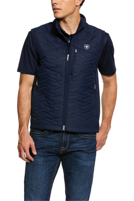 Ariat Mens Hybrid Insulated Water resistant Gilet 10030346 - Navy