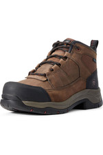 Ariat Mens Telluride Work H20 CT Boots Brown