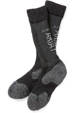 Ariat Tek Alpaca Socks Black / Grey