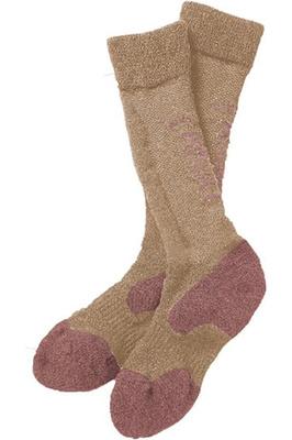 Ariat Tek Alpaca Socks Covert Beige / Hawthorn Rose