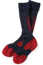 Ariat Tek Alpaca Socks Navy / Red