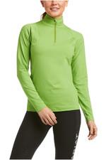 Ariat Womens Auburn 1/4 Zip Long Sleeve Baselayer 10034799 - Peridot