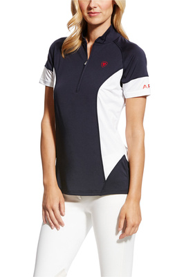 Ariat Womens Cambria Team Jersey 10022181 - Navy