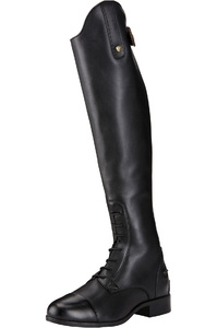 Ariat Womens Heritage Countour II Field Zip Long Riding Boots Black