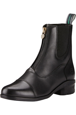 Ariat Womens Heritage IV Zip Short Riding Boots Black