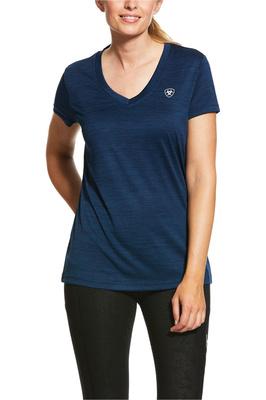 Ariat Womens Laguna Short Sleeve Top 10030891 - Navy Heather