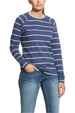 Ariat Womens Ready Sweatshirt 10030419 - Night Shadow Stripe