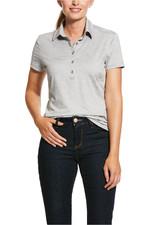 Ariat Womens Talent Polo Shirt 10030473 - Alloy
