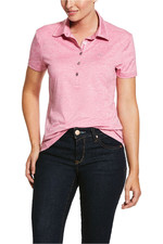 Ariat Womens Talent Polo Shirt 10030496 - Heather