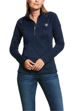 Ariat Womens Tolt 1/2 Zip Team Sweatshite 10030527 - Navy
