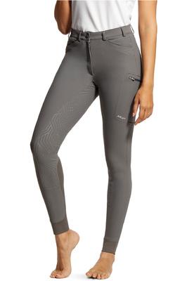 Ariat Womens Triton Grip Full Seat Breeches 10030534 - Plum Grey