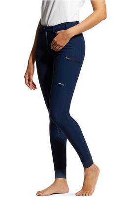 Ariat Womens Triton Grip Knee Patch Breeches 10030538 - Navy