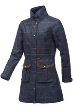 Baleno Womens Darlington Coat - Navy