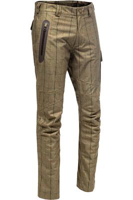 Baleno Mens Holmes Waterproof Trousers - Khaki Tweed