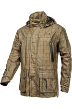 Baleno Mens Moorland Jacket - Khaki Tweed