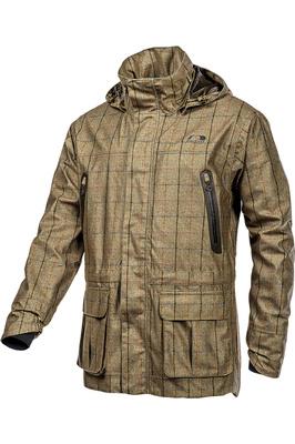 Baleno Mens Moorland Jacket - Khaki Tweed