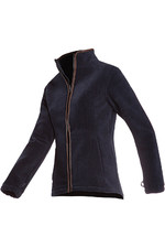 Baleno Womens Sarah Fleece Jacket Navy Blue