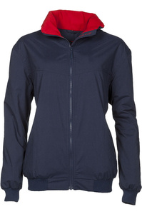 Baleno Typhoon Waterproof Fleece Lined Blouson Jacket Navy
