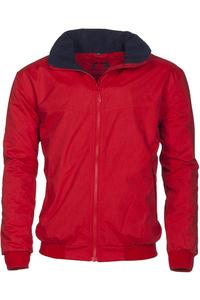 Baleno Typhoon Waterproof Fleece Lined Blouson Jacket Red