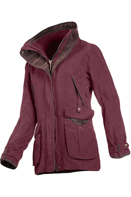 Baleno Womens Ascot Jacket Plum
