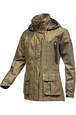Baleno Womens Pembroke Jacket - Khaki Tweed