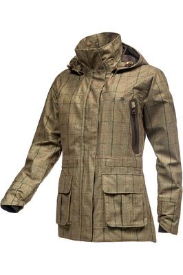 Baleno Womens Pembroke Jacket - Khaki Tweed