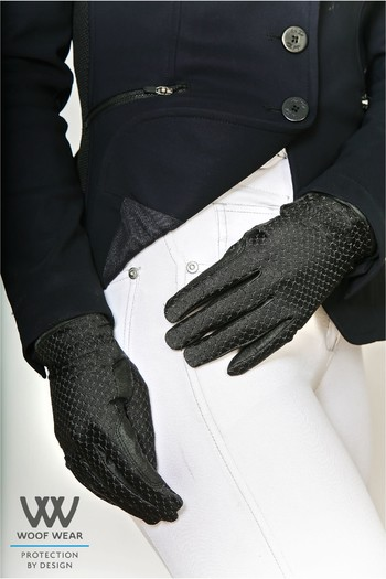 Woof Wear Zennor Riding Gloves - Black