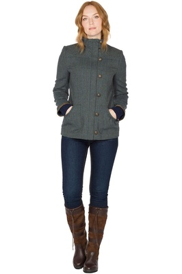 Dubarry Womens Bracken Tweed Sports Jacket Mist