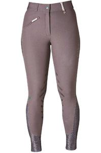 Caldene Womens Palena Tex Breeches Mid Rise Dark Grey
