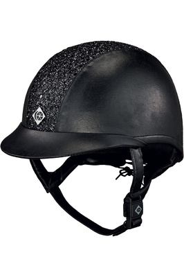 Charles Owen ASTM eLumenAyr Helmet Black Sparkly Centre