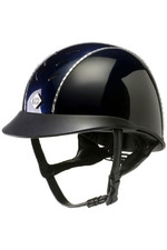 Charles Owen AyrBrush Reflection Helmet - Navy
