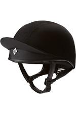 Charles Owen Pro II Plus Helmet Silk - Black