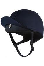 Charles Owen Pro II Plus Round Fit Skull Helmet - Navy