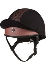 Charles Owen Pro II Plus Round Fit Skull Helmet - Rose Gold