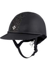 Charles Owen SP8 Plus Leather Look Helmet - Black / Sparkle