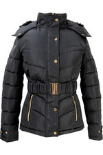 Coldstream Womens Cornhill Quilted Coat - Black