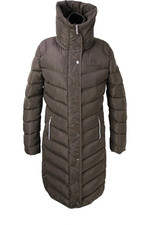 Coldstream Womens Kimmerston Long Quilted Coat - Taupe