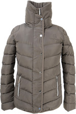 Coldstream Womens Kimmerston Quilted Coat - Taupe