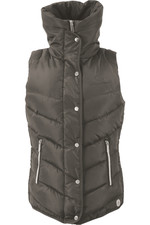 Coldstream Womens Kimmerston Quilted Gilet - Taupe