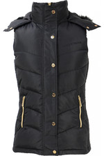 Coldstream Womens Leitholm Quilted Gilet - Black