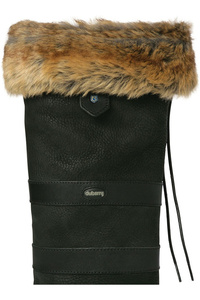 Dubarry Faux Fur Boot Liners Chinchilla