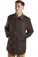 Dubarry Mens Headford Waxed Cotton Jacket Java