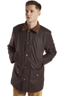 Dubarry Mens Headford Waxed Cotton Jacket Java