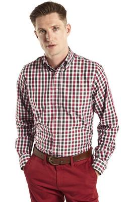 Dubarry Mens Scottstown Country Shirt Russet Multi